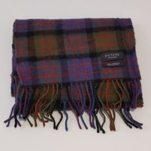 Kiltane of Scotland lambswool plaid scarf